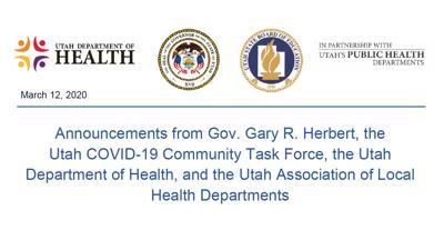 COVID-19 State Announcement