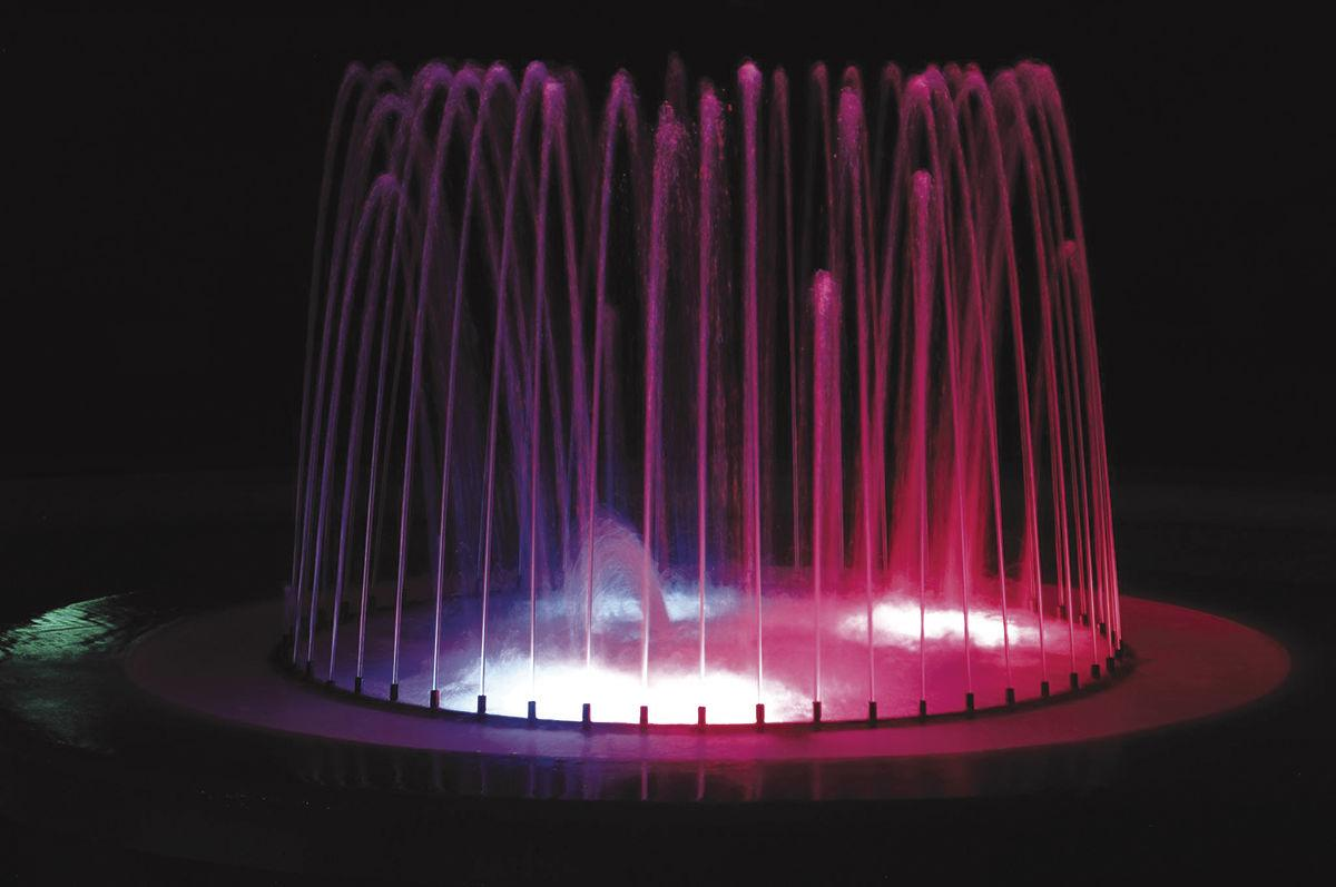 Fountain color