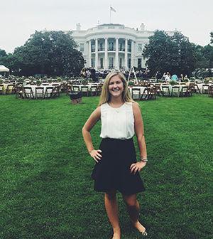 CHS graduate completes White House internship