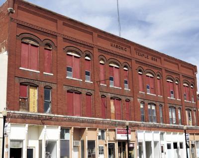 The 1899 Masonic Temple building