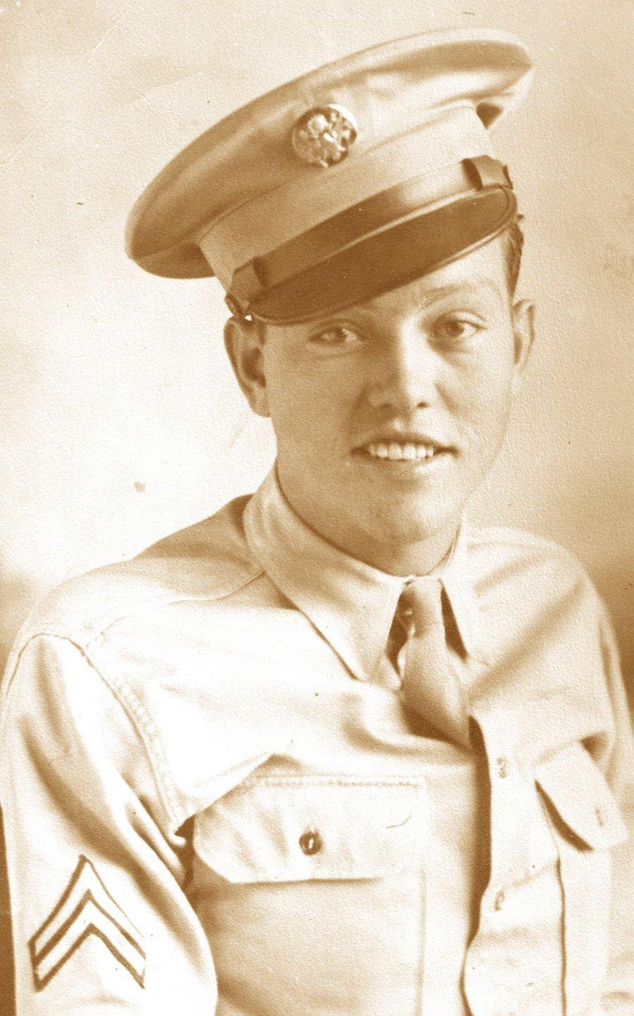 Bill Roberts in World War II