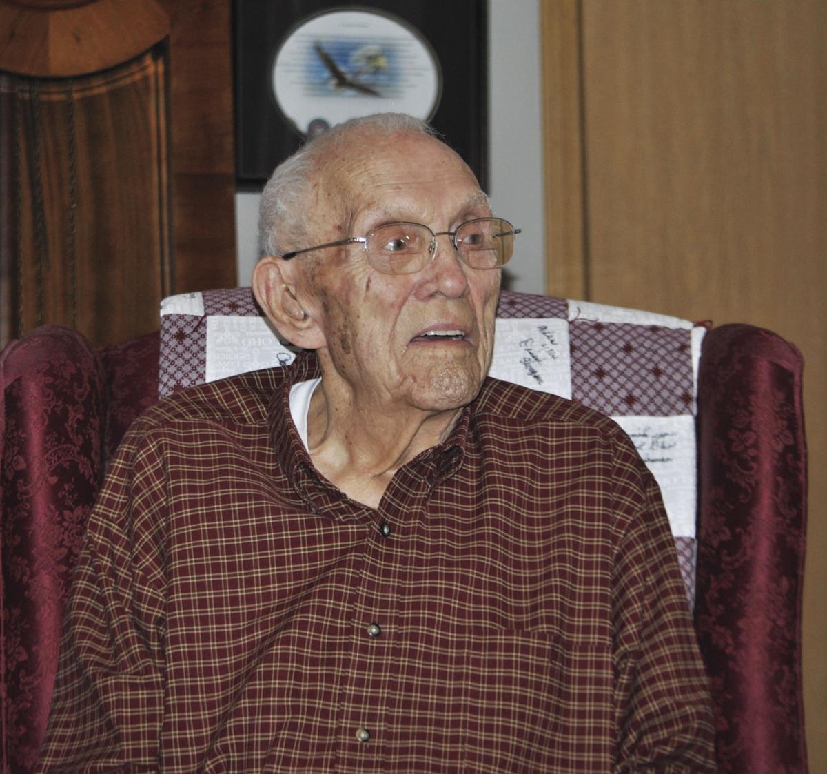Bill Roberts at age 97.
