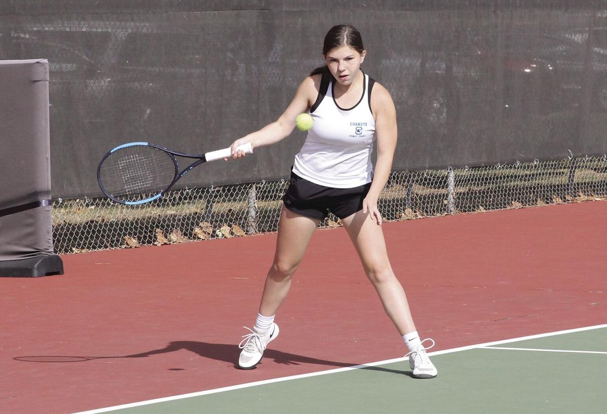 Veteran Aimee Maxton will lead the Lady Comets tennis team next year.