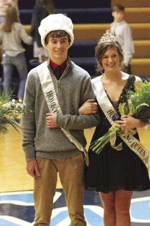 CHANUTE HIGH WINTER ROYALTY