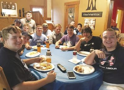 Football,food and family
