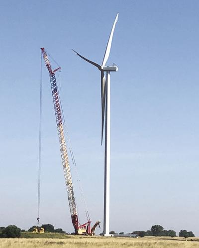 Neosho Ridge Wind turbine