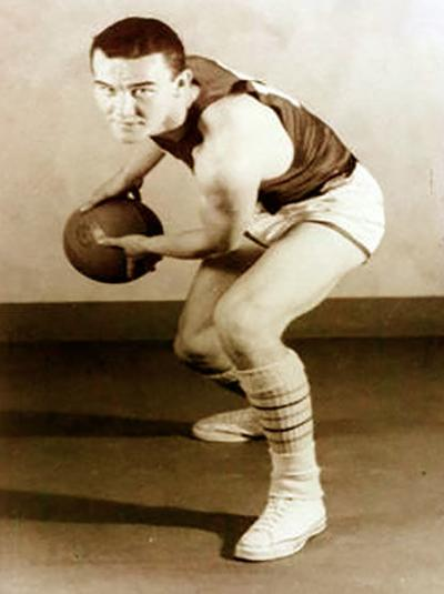 Ralph Miller in his playing days