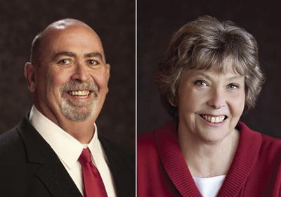 Ken Collins and Lynn Grant