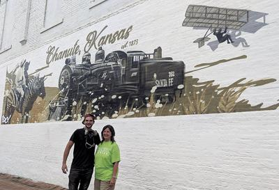 New downtown mural