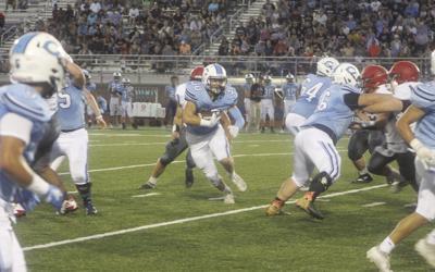Donovan slashes through the teeth of the defense