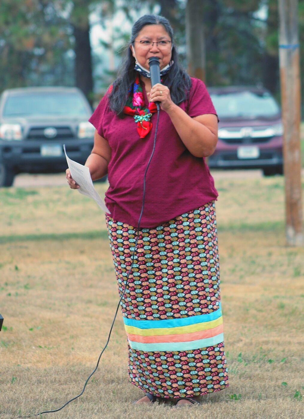 Three Chiefs Cultural Center Director Marie Torosian