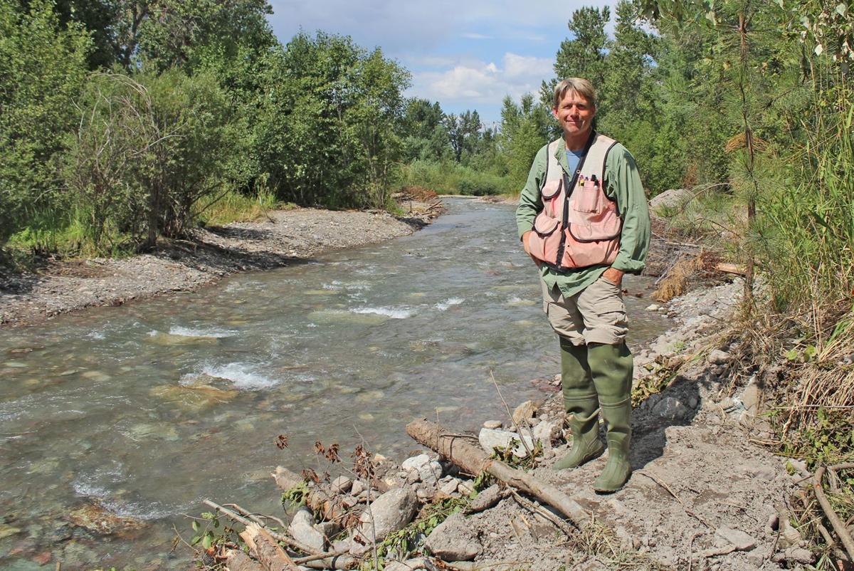 Habitat Restoration Botanist Rusty Syndor