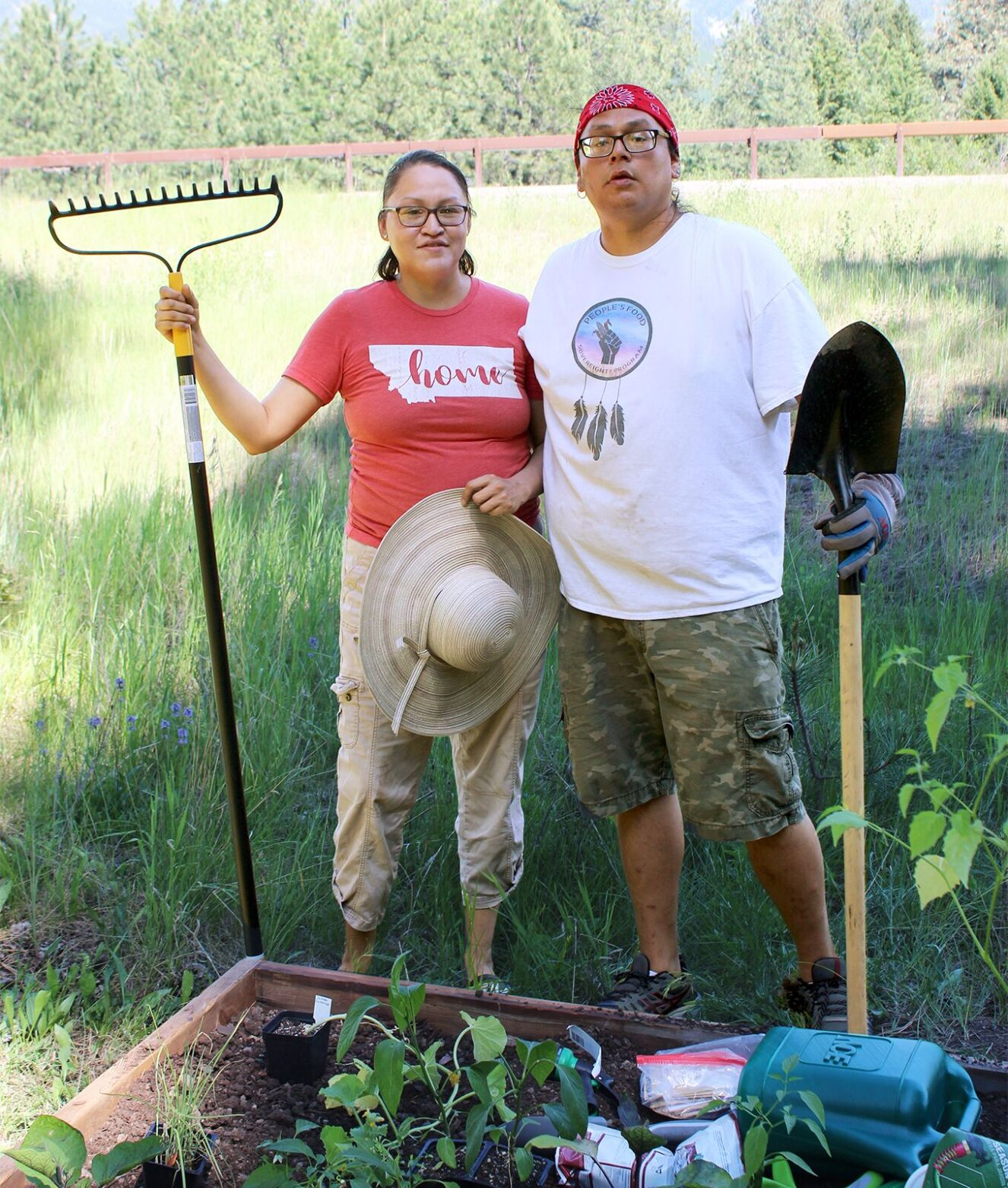 Families get a head start with Food Sovereignty