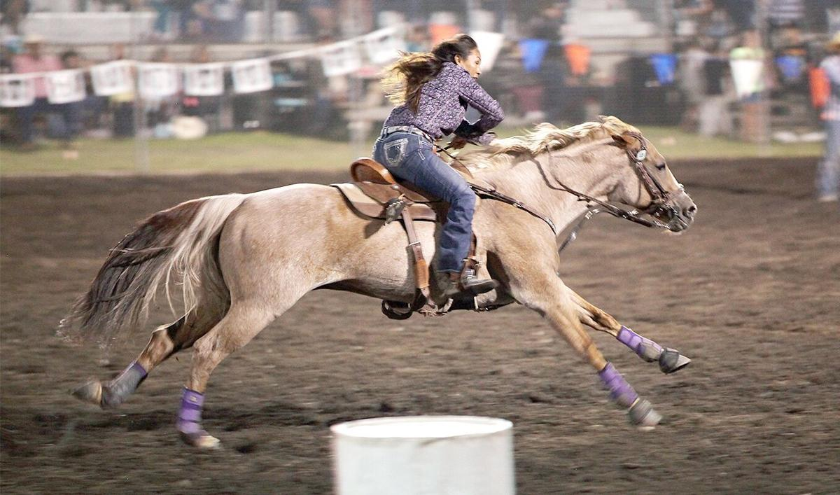 Indian cowgirl barrel racers