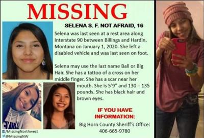 Authorities search for girl last seen at Montana rest stop