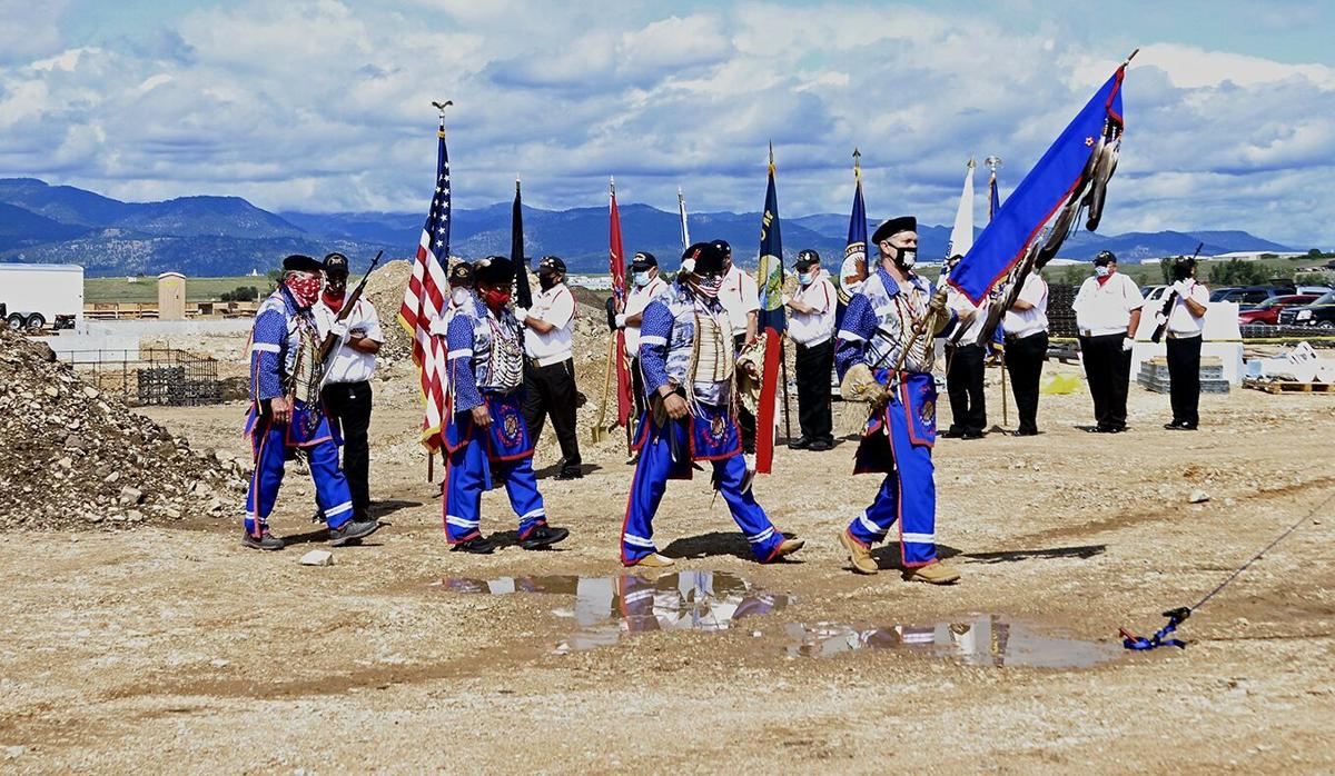 Veterans Warrior Society and the Mission Valley Honor Guard