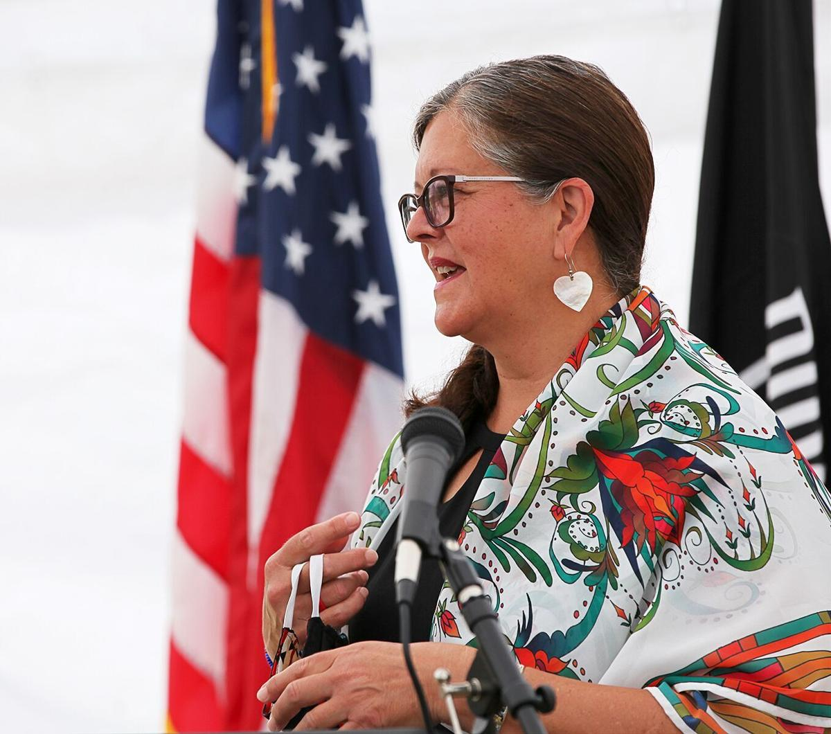 Tribal Council Chairwoman Shelly Fyant