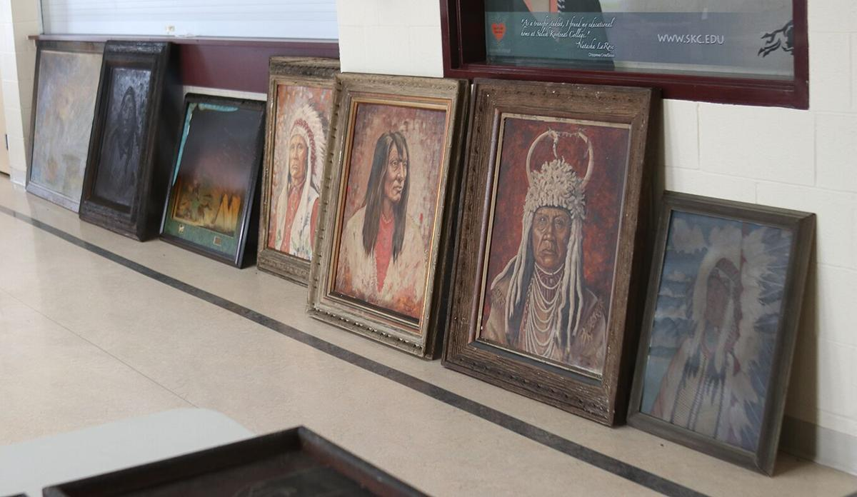 These portraits of tribal leaders
