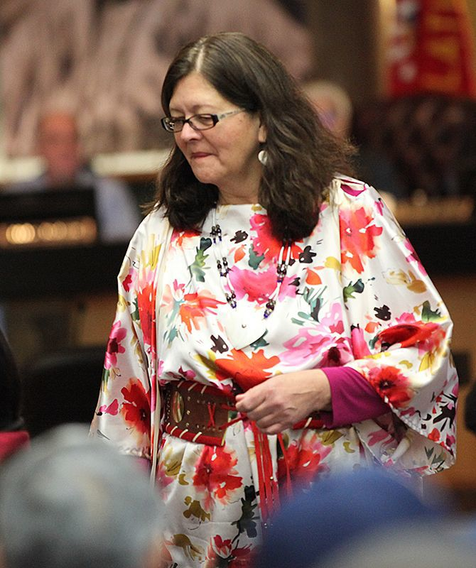 New Tribal Council Chair Shelly Fyant