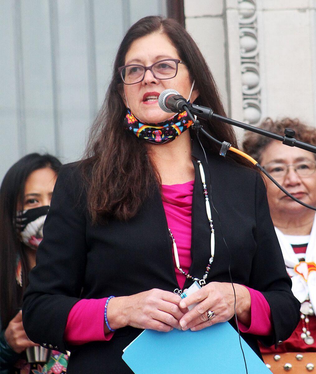 CSKT Chairwoman Shelly Fyant