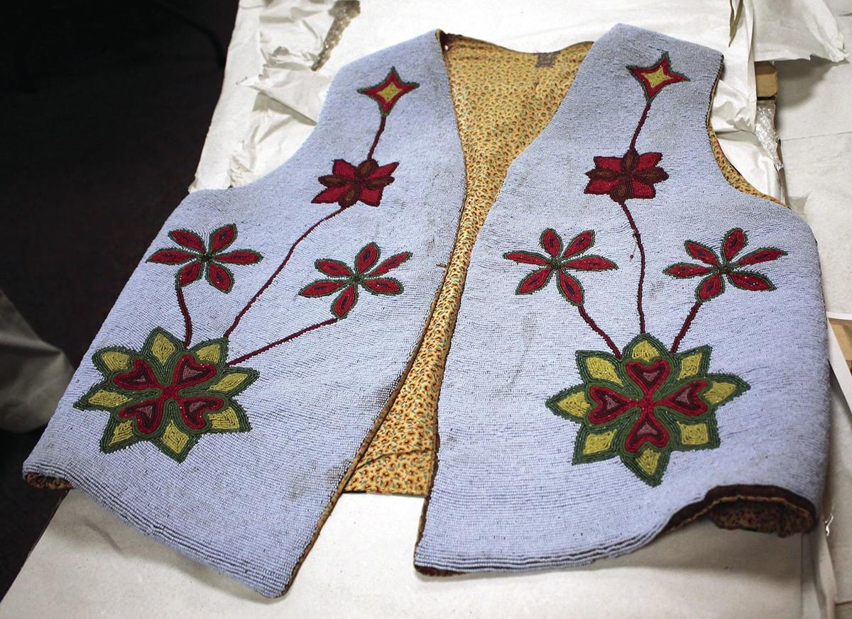 A vest belonged to late Chief Martin Charlo