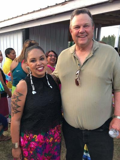 Brianna Lamb and Senator Jon Tester