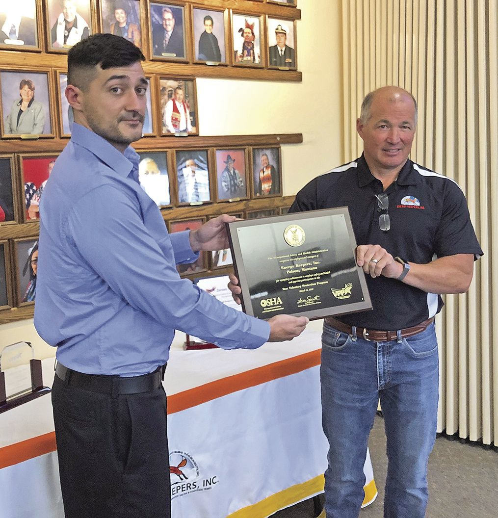 Star Voluntary Protection Program award
