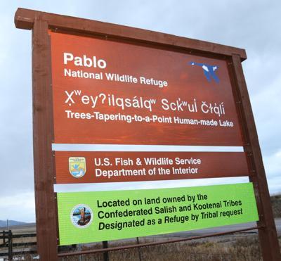 New refuge signs