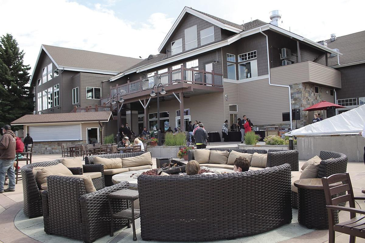 KwaTaqNuk Resort and Casino's patio lounge