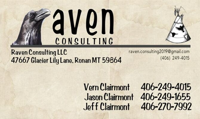 Raven Consulting Business Card