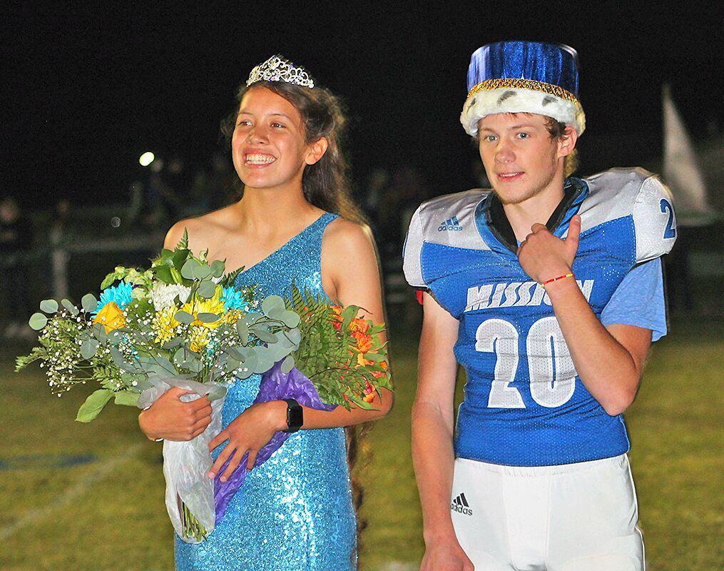 Mission High School seniors Madyson Currie and Isaiah Fields