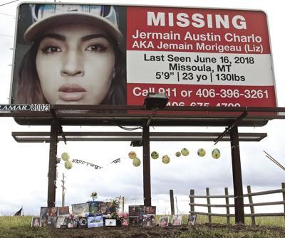 A billboard outside Missoula