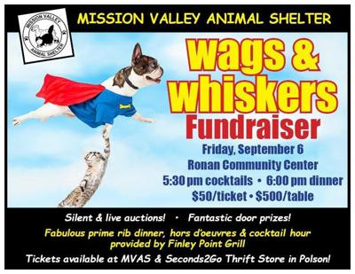 """Wags & Whiskers"" fundraiser set for September 6"