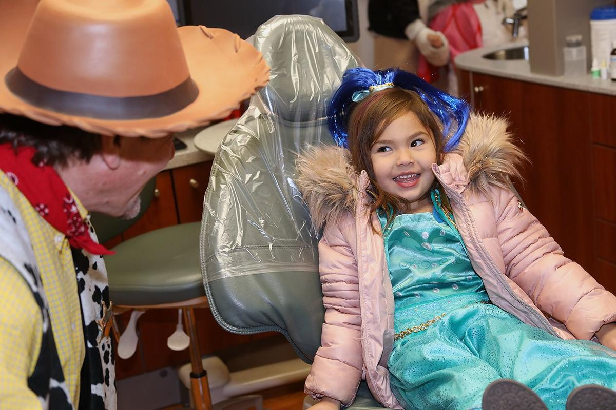 Princesses need regular dental check ups.