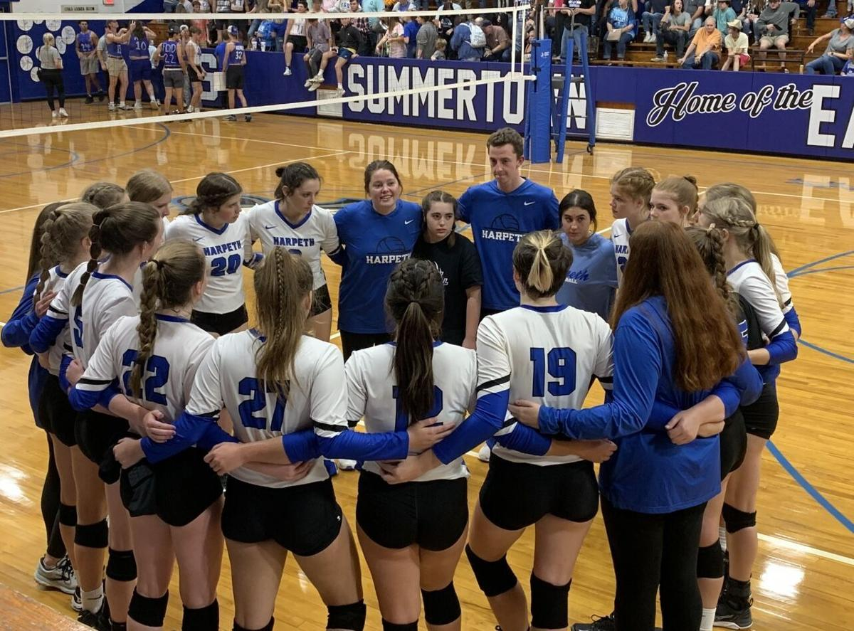Lady Indians fall to Summertown in sectional round of volleyball playoffs