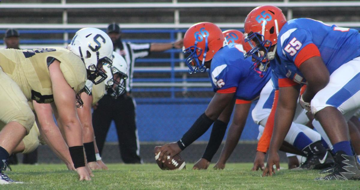 Sycamore defeated Hunters Lane 17-0 on Thursday night.JPG