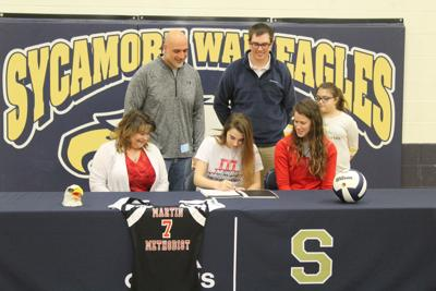 Volleyball signing