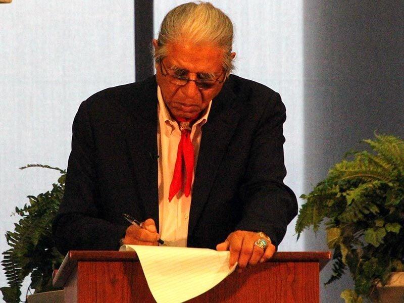 Rogers State holds principal chief debate