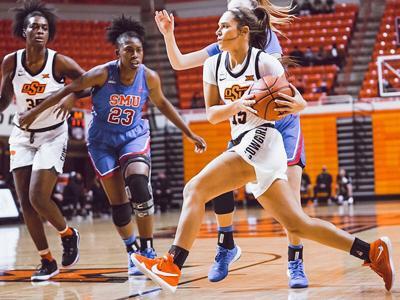Keys named Big 12 women's basketball Freshman of the Week