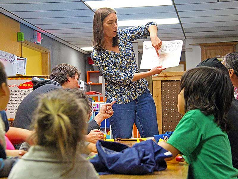 While learning language, Swepston teaches Cherokee