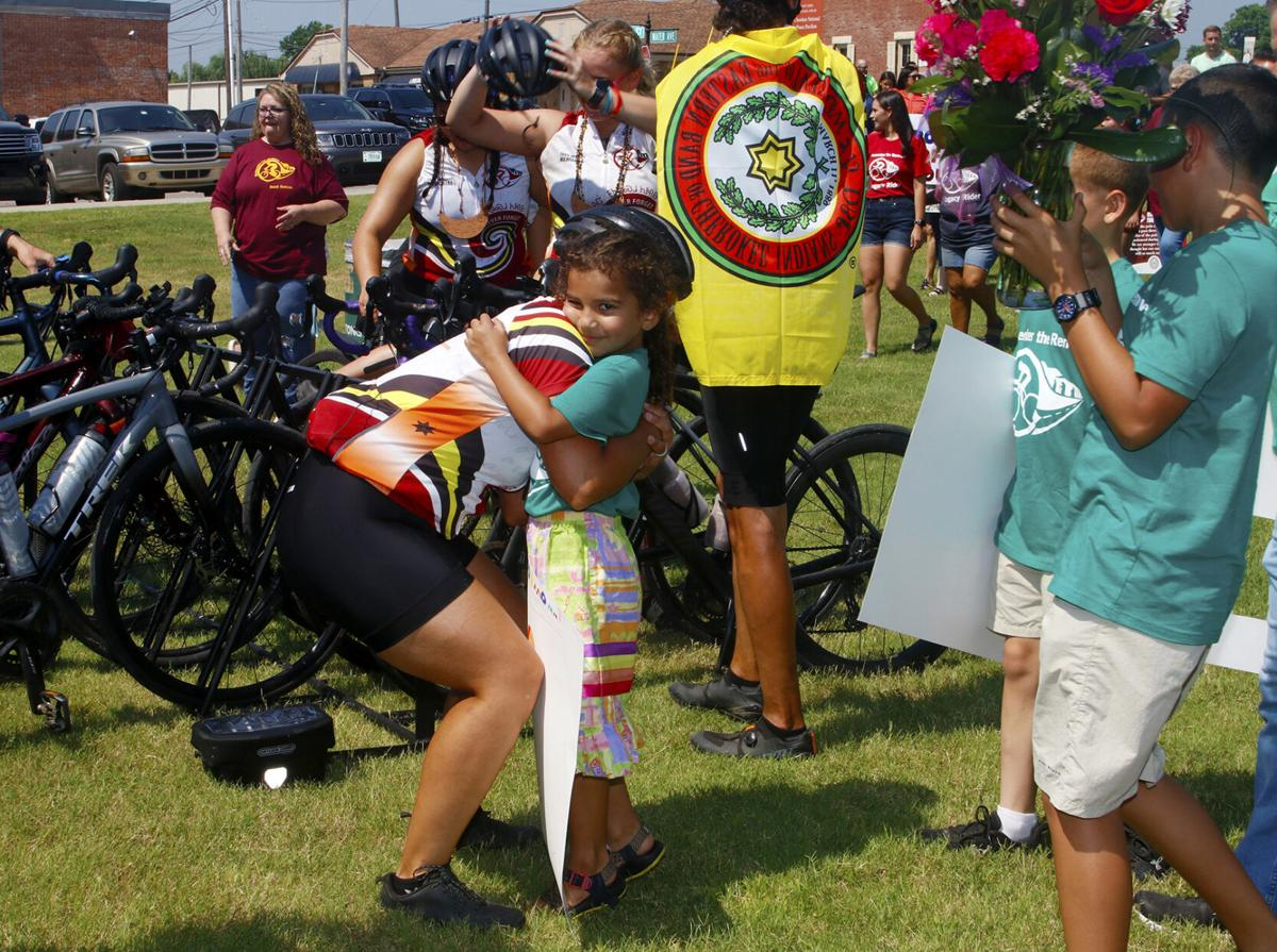 RTR riders welcomed after retracing Trail of Tears