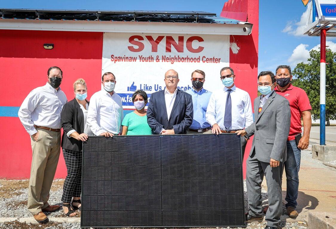Cherokee Nation installs solar panels on Spavinaw Youth & Neighborhood Center