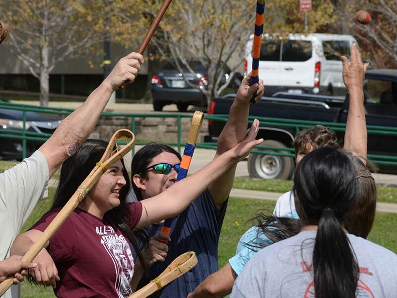 Cave inscriptions tell of bloody stickball match
