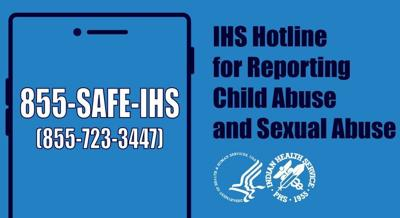 IHS opens hotline to report suspected abuse