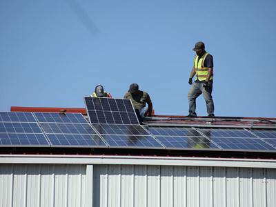 Cherokee Nation installs solar panels at community centers