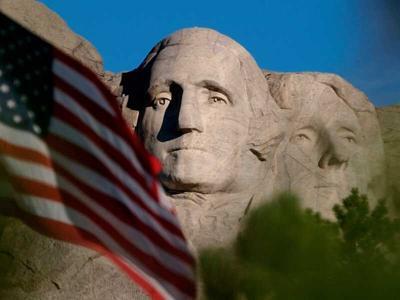 'Faces of the conquerors': Trump trip to Rushmore draws fire