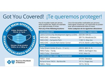 100K free masks to be distributed at 'Got You Covered' events
