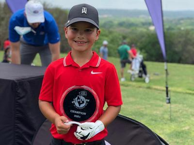 Cherokee boy wins US Kids Golf Texas Open