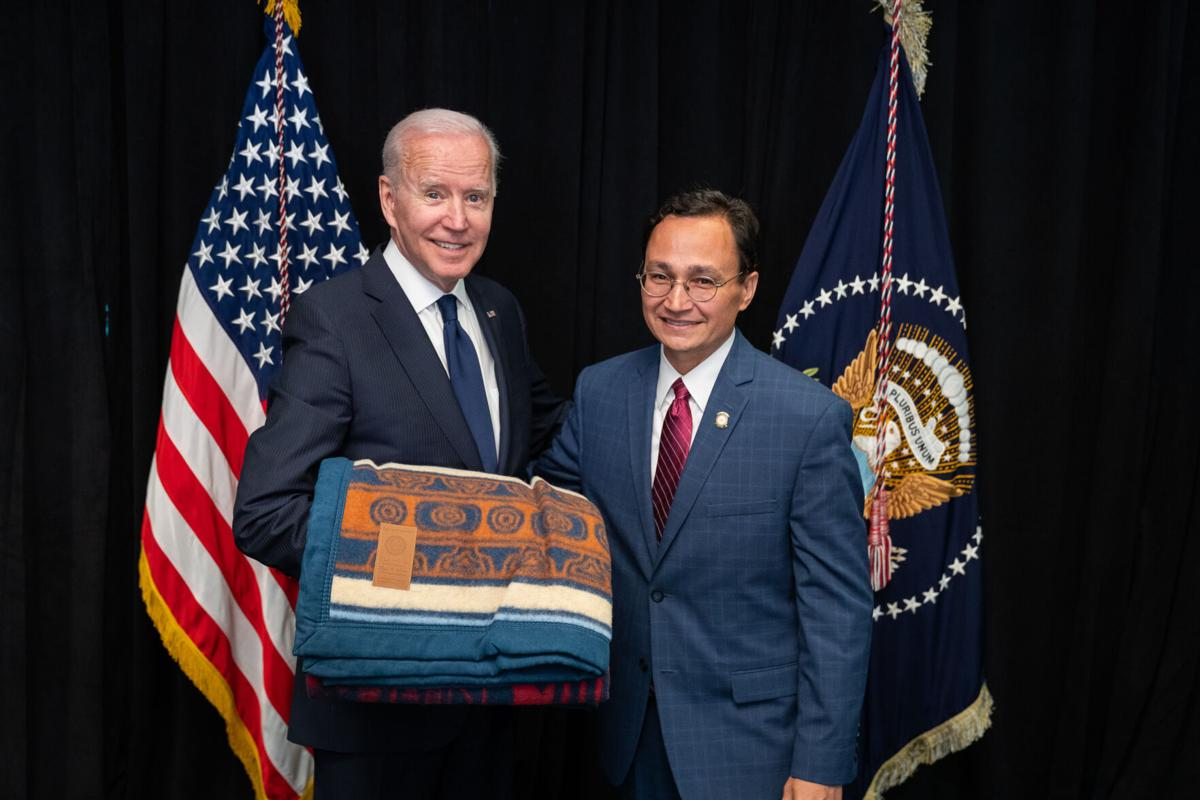 Hoskin meets with president, underscores push for delegate