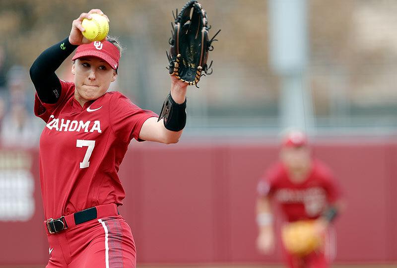 Rains contributes to University of Oklahoma's softball success